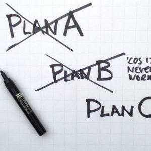 Plan A, B, C or D?