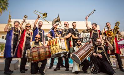 Bollywood Brass Band - Newbury Spring Festival