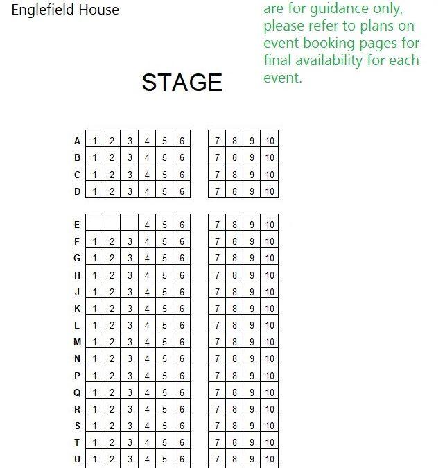 Englefield seating plan